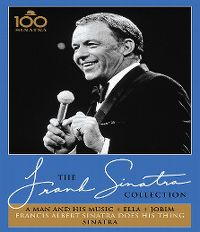 Cover Frank Sinatra - The Frank Sinatra Collection: A Man And His Music + Ella + Jobim / Francis Albert Sinatra Does His Thing / Sinatra [DVD]